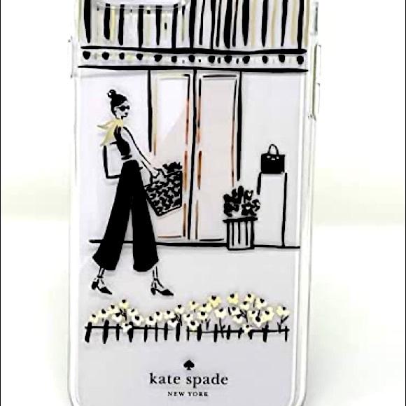Kate Spade NY window shopping I phone case.
